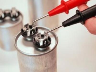 نحوه تست کردن خازنهای الکتروموتور تکفاز