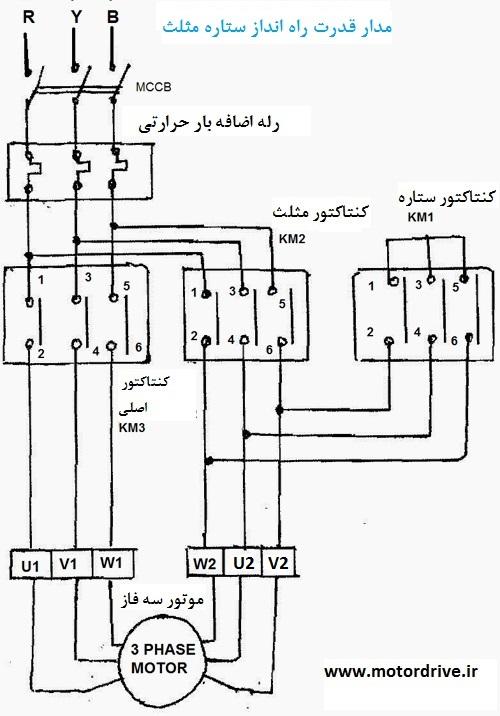 چرا موتور القایی ستاره مثلث راه اندازی می شود