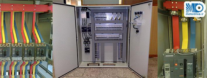 نمونه ای از شمش کشی تابلوهای توزیع و روشنایی کارخانه سیمان رفسنجان