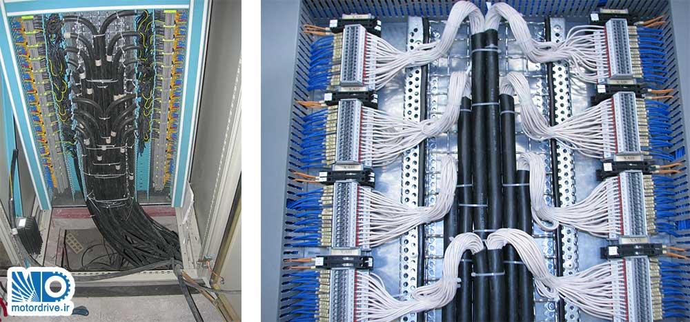 یک نمونه ازراه اندازی و سربندی تابلوهای کنترل PLC